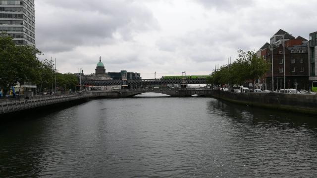 Dublin hoje cedo.